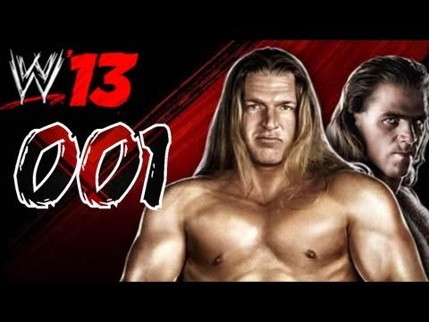 WWE 13 - Lets Play WWE 13 Attitude Era Mode D-Generation X [ HD German ] Part 1