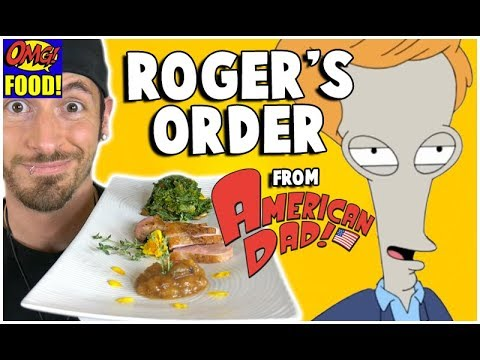 ROGER'S ORDER from American Dad