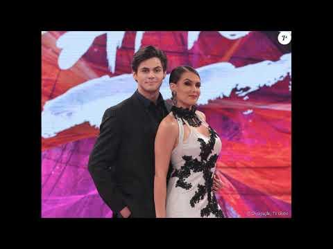 Notícias dos famosos - Lucas Veloso pede Nathália Melo em namoro no Dança dos Famosos