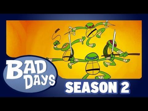 Teenage Mutant Ninja Turtles - Bad Days - Season 2 - Episode 2