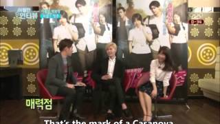 Nonton [ENG] Park Bo Young 박보영 and Lee Jong Suk - Interview for 'Hot Young Bloods 피끓는 청춘' Film Subtitle Indonesia Streaming Movie Download