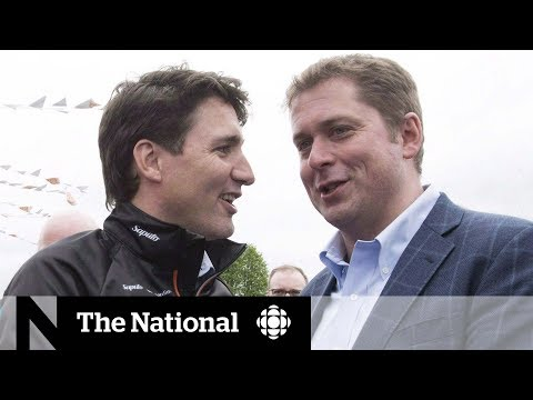 Trudeau and Scheer tackle identity politics ahead of election