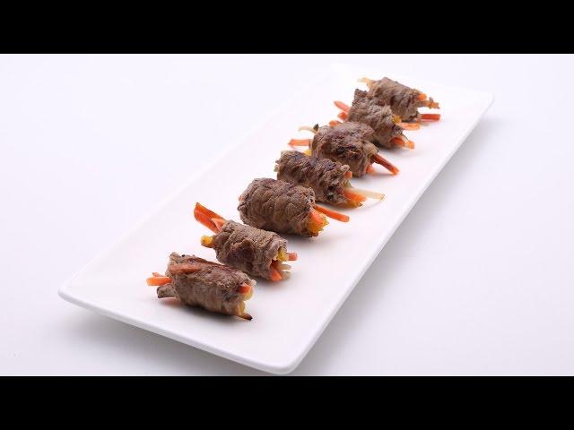 Asian Beef Steak Rolls