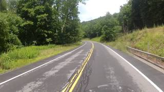 10. Riding my 2010 Kawasaki Vulcan 1700 Voyager - Pepacton Reservoir Ride
