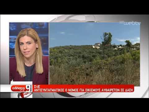 ΣτΕ: Αντισυνταγματικές οι «οικιστικές πυκνότητες» σε δάση | 5/4/2019 | ΕΡΤ