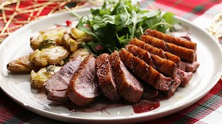 Seared Duck Breast And Potatoes by Tasty