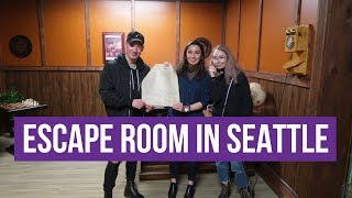 Surviving an Escape room in Seattle!