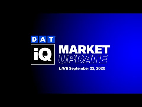 DAT iQ Live: DAT's Data Analytics team examines current freight market conditions: Ep. 123