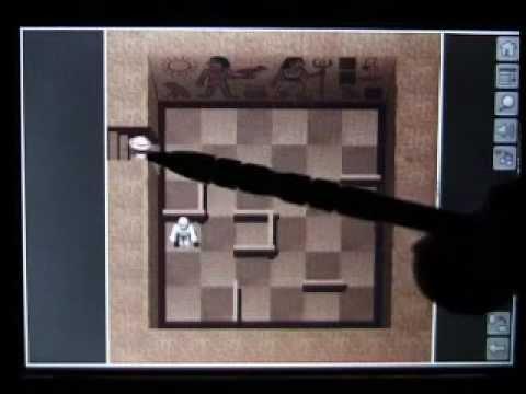 PFM 2005/06 - Gameplay Clip - Mummy Maze - Tapwave Zodiac Palm OS