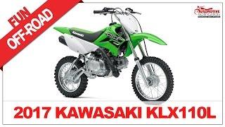 8. 2017 Kawasaki KLX110L Price & Spec