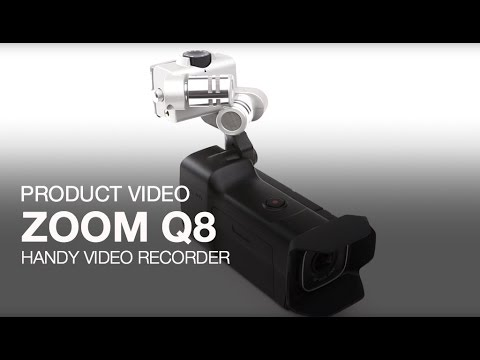 Video - Zoom Q8 Handheld HD Video Recorder | HQ8