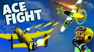 German ACE PILOT vs Red Baron Bomber Crew! (Bomber Crew Gameplay Part 2)