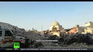 The devastation in Mosul and Aleppo are comparable, Professor Seyed Mohammad Marandi told RT, and yet the Western media only choose to highlight the suffering in the Syrian province and downplays the plight of those in the Iraqi city. Read More: https://on.rt.com/8ijhRT LIVE http://rt.com/on-airSubscribe to RT! http://www.youtube.com/subscription_center?add_user=RussiaTodayLike us on Facebook http://www.facebook.com/RTnewsFollow us on Twitter http://twitter.com/RT_comFollow us on Instagram http://instagram.com/rtFollow us on Google+ http://plus.google.com/+RTListen to us on Soundcloud: https://soundcloud.com/rttvRT (Russia Today) is a global news network broadcasting from Moscow and Washington studios. RT is the first news channel to break the 1 billion YouTube views benchmark.
