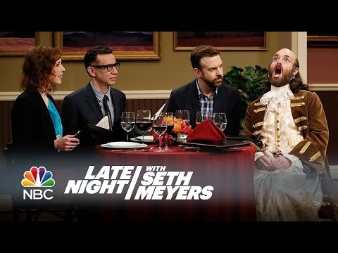Second Chance Theatre: Jennjamin Franklin – Late Night with Seth Meyers