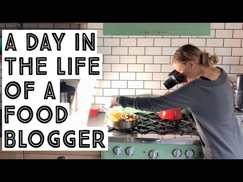 A Day In The Life Of A Food Blogger! (vegan)