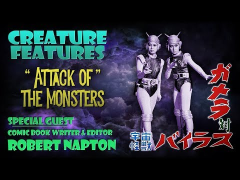Robert Napton & Attack of The Monsters