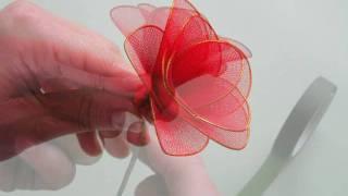 Artesanato Passo A Passo - Flores De Tecido -  Meia De Seda
