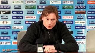 Валерий Карпин после победы над «Кубанью»