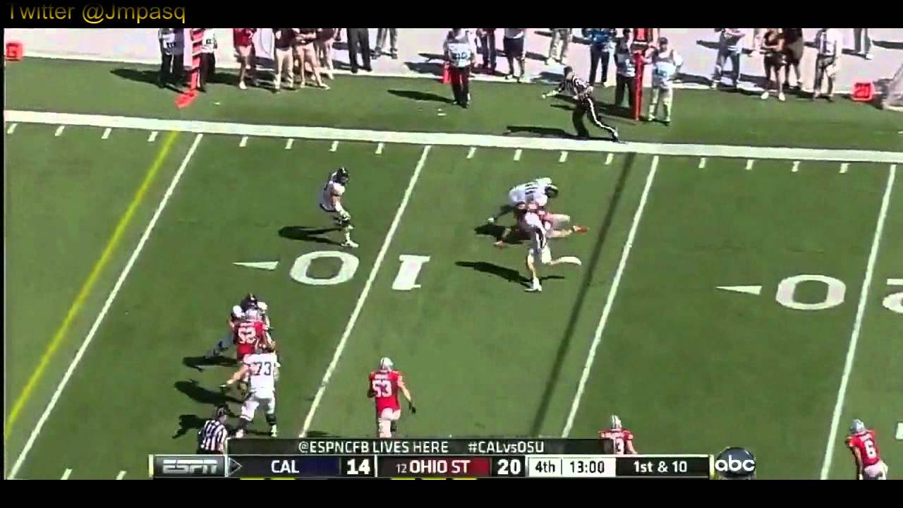 Keenan Allen vs Ohio State and USC (2012)