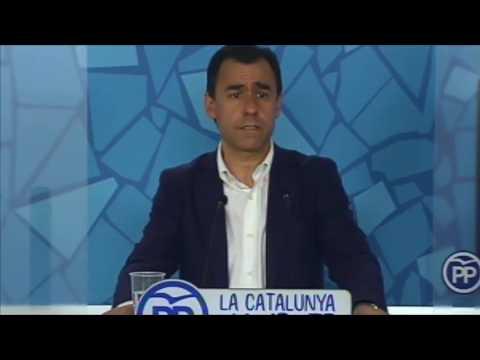 """Maillo: """"La campaña del PPC pretende desenmascarar el proyecto independentista"""""""