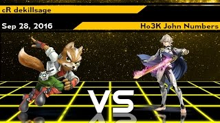 XenoTwentyNine Winners Finals – cR | dekillsage (Fox) vs. Ho3K | John Numbers (Corrin)
