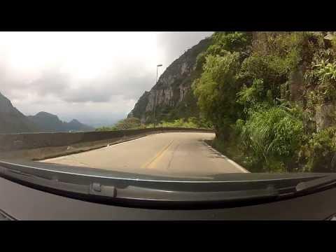 Descida da Serra do Rio do Rastro -SC - Brasil -  06 01 2014
