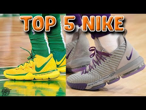 Top 5 Best NIKE Basketball Shoes of 2018!