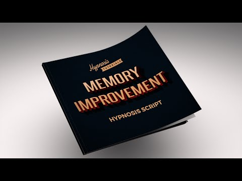 Free Hypnosis Script For Memory Improvement