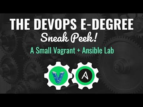 Ansible Mini Lab | DevOps E-degree | Kickstarter Project | Eduonix