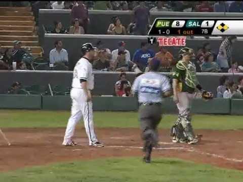 Primer juego de la serie Puebla vs Saltillo