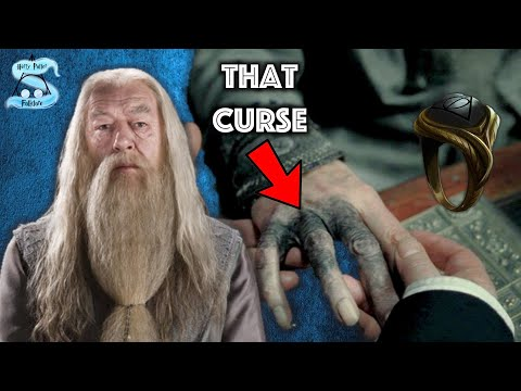 What Was The Curse On Dumbledore's Hand? + The Horcrux Ring Explained