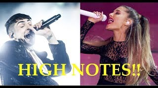 Video Male Singers Hitting Female Singers HIGH NOTES!! MP3, 3GP, MP4, WEBM, AVI, FLV Juni 2018