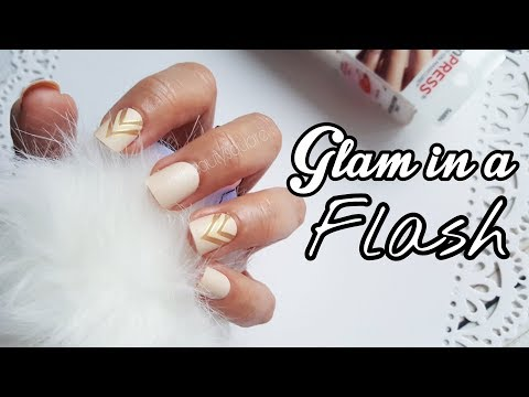 Glam in Flash: Fabulous nails in less than 2 minutes!