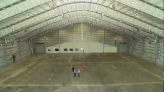 Fire Engineering Solutions - Aircraft Hangar High Expansion Foam Deluge System