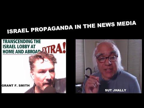 Israel Propaganda in the News Media- UMass Professor Emeritus Sut Jhally