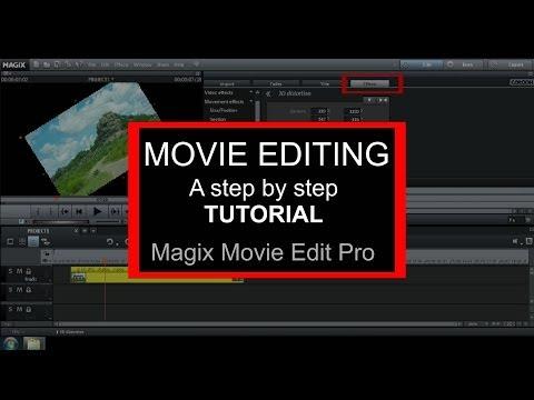 Magix Movie Edit Pro 2015 Tutorial