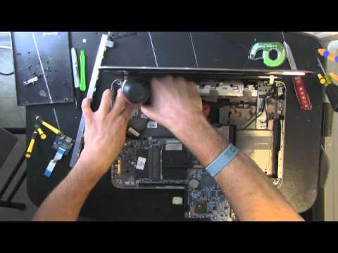 HP PAVILION DV6 DV6-6117DX Notebook Kasası açma ve temizleme