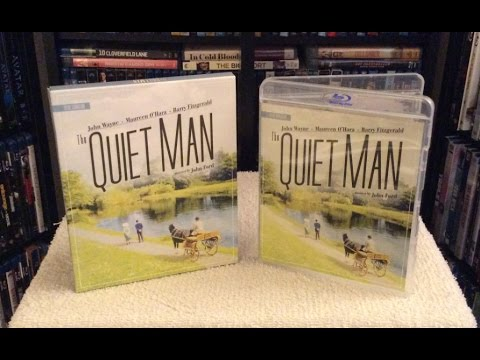 The Quiet Man 4K Restoration BLU RAY UNBOXING And Review - John Wayne