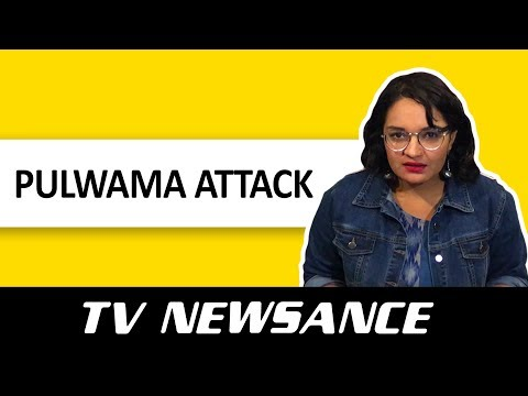 TV Newsance Episode 44:  Pulwama Attack And The War In Our TV News Studio