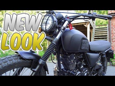 NEW LOOK Brixton Felsberg 125 Motorcycle