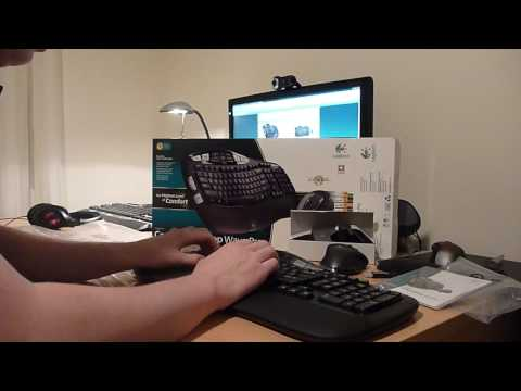 Logitech Cordless Desktop Wave Pro - Unboxing & First Impressions by Product Feedback