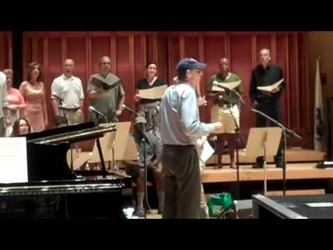 """Lonesome Road"" – James Taylor Rehearses with Tanglewood Festival Chorus"
