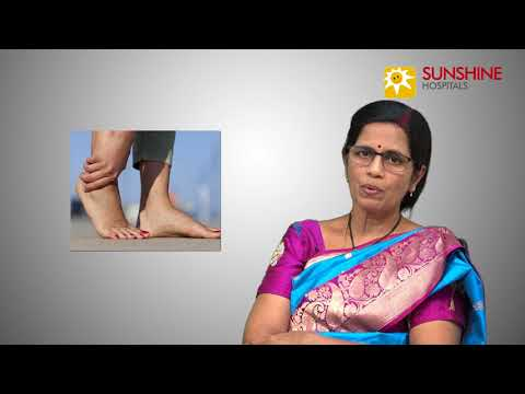 Watch Dr. T. Chiranjeevi, Consultant Orthopaedic Surgeon, talk about Foot Problems