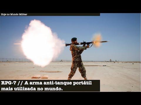 RPG-7 - A arma anti-tanque portátil mais utilizada no mundo