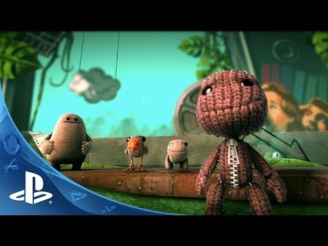 big 3 - PlayStation's most imaginative franchise, LittleBigPlanet, is back with a new cast of playable plush characters in the biggest handcrafted adventure yet! htt...