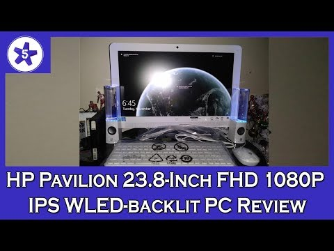 HP Pavilion 23.8-Inch FHD 1080P IPS WLED-backlit All-In-One Premium Desktop PC Review