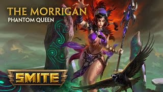 Introducing the newest god to join the battleground - The Morrigan, Phantom Queen! Available in the 3.25 The Phantom Queen patch, coming soon to SMITE. This ...