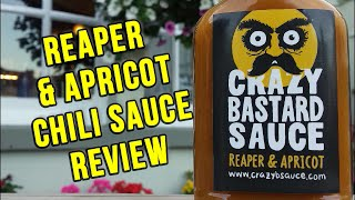 Crazy Bastard's Reaper & Apricot Sauce review