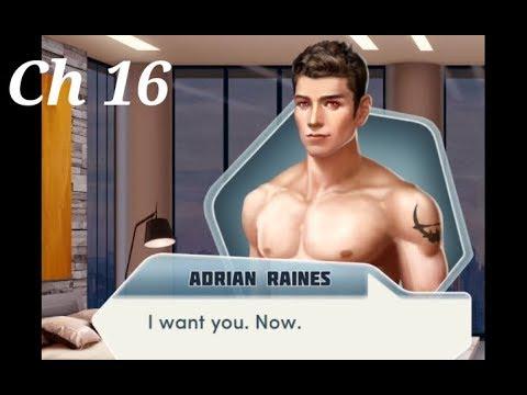 Choices:- BloodBound Chapter #16 Adrian Romance Scene