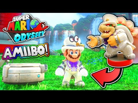 SUPER MARIO ODYSSEY - Using SPECIAL Amiibos!